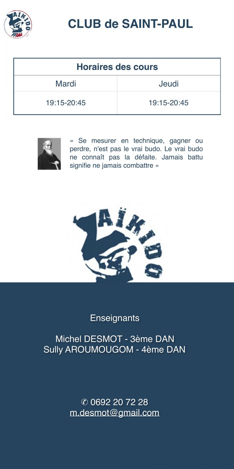 Aikido Salle De Bain ~ les clubs affili s la lrffaaa
